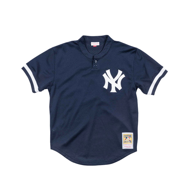 Mitchell & Ness Mens Authentic NY Yankees 1995 Derek Jeter BP Jersey