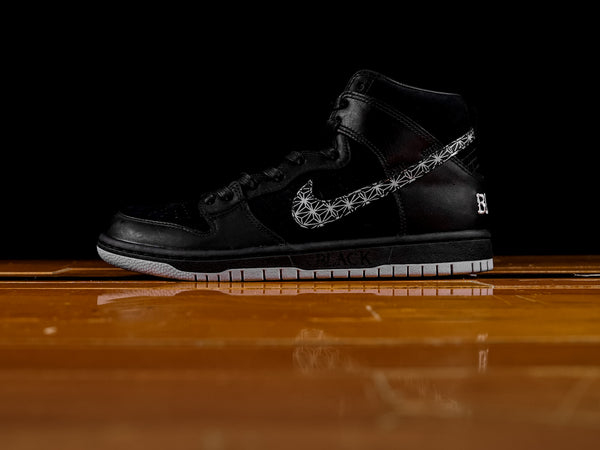 Men's Nike SB Dunk High x Black Bar [AH9613-002]