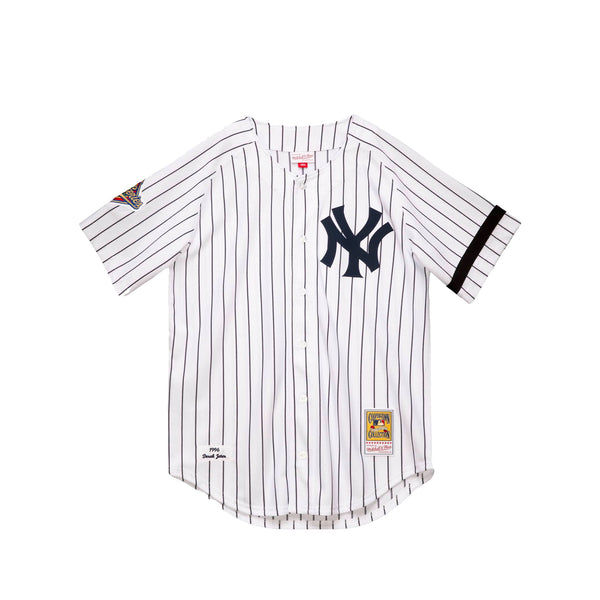 Mitchell & Ness Mens NY Yankees 1996 Derek Jeter Authentic Jersey