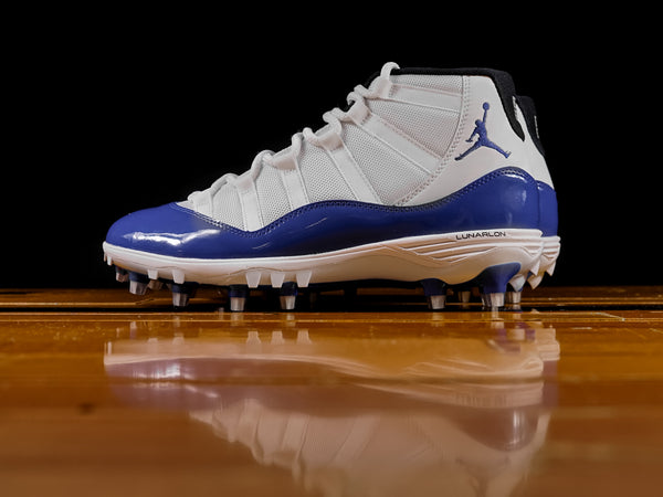 Men's Air Jordan Retro 11 TD Cleat 'Game Royal' [AO1561-107]