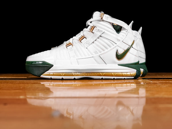 Men's Nike LeBron 3 QS 'SVSM Away' [AO2434-102]