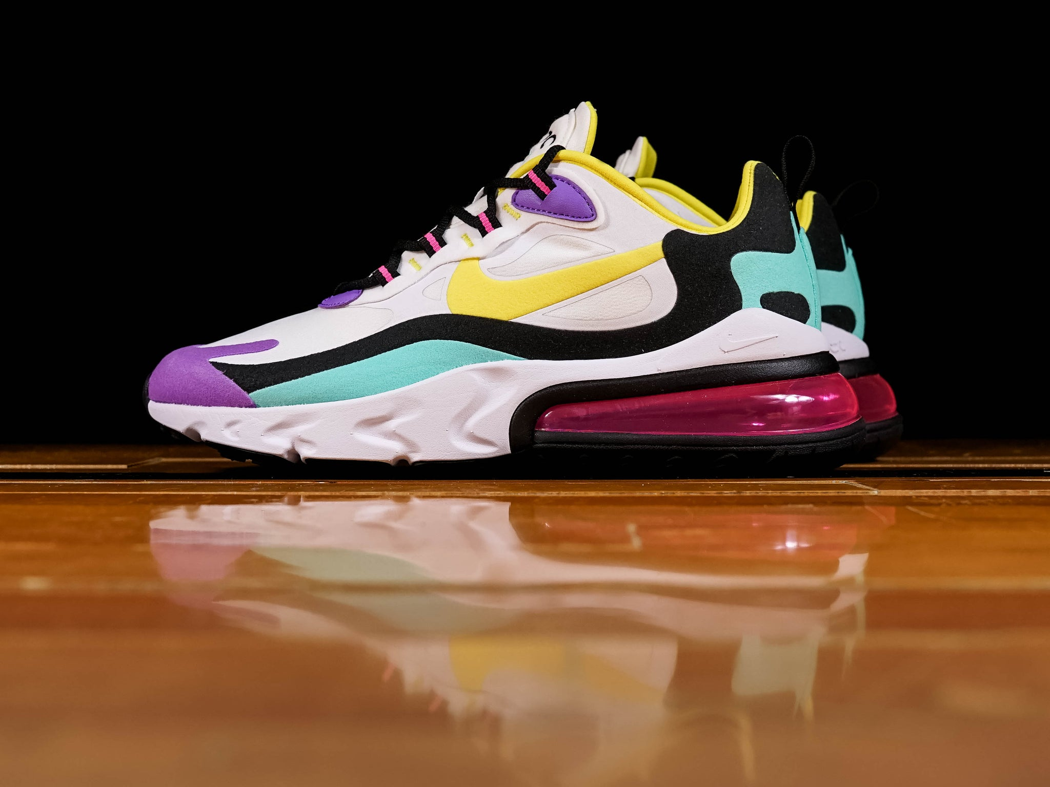 huge selection of ade50 2c237 Men's Nike Air Max 270 React [AO4971-101]