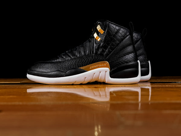 eb2bb3c549c7 Women s Air Jordan 12 Retro  Midnight Black  ...