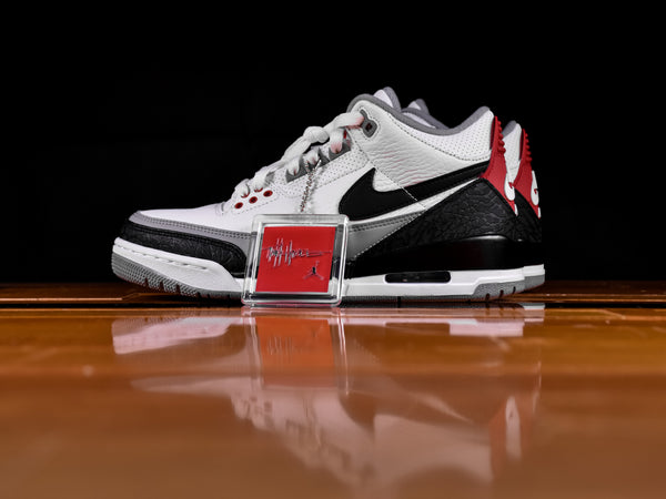 Men's Air Jordan 3 'Tinker Fire Red' NRG [AQ3835-160]