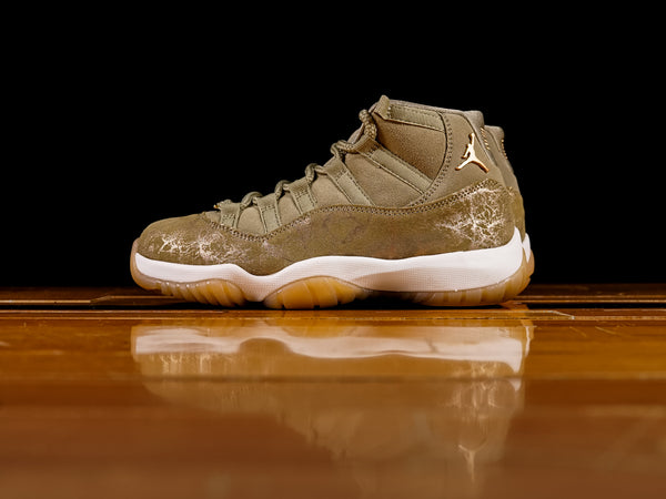 Women's Air Jordan Retro 11 'Olive Lux' [AR0715-200]