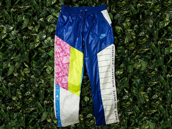 Men's Nike Sportswear Color Block Pants [AR2940-438]
