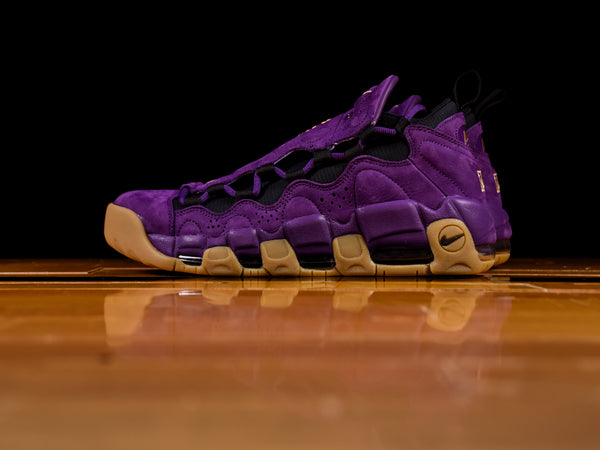 Men's Nike Air More Money 'Purple Leopard'  [AR5401-500]