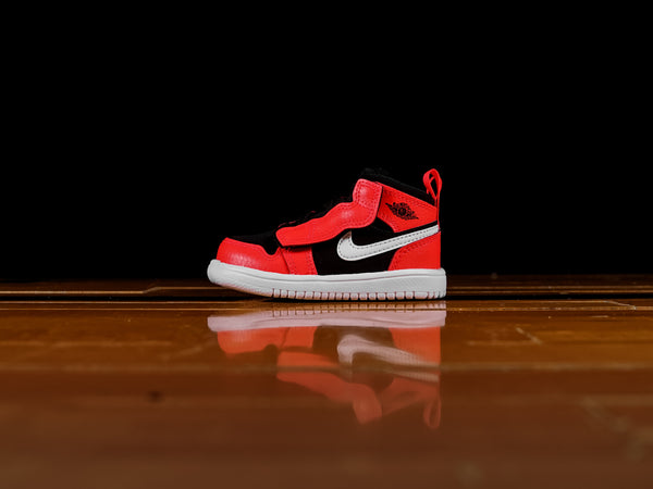 Kid's Air Jordan 1 Mid TD 'Infrared' [AR6352-061]