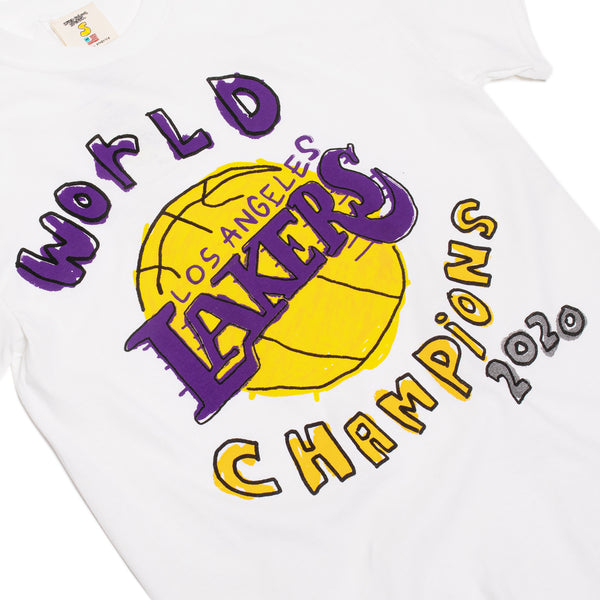 After School Special Mens Lakers World Champs 2020 Tee