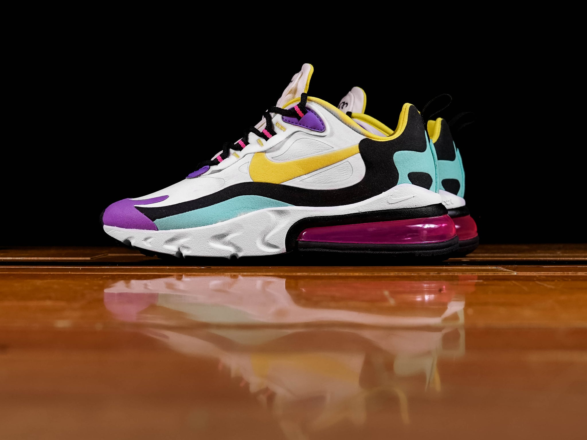 best website 73dca 9d94f Women's Nike Air Max 270 React [AT6174-101]
