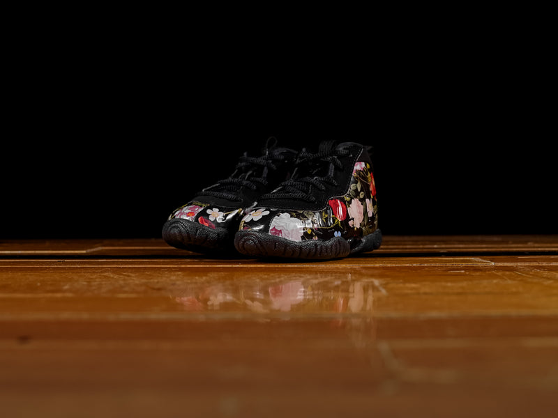 Kids Nike Lil Posite One TD 'Floral' [AT8250-001]