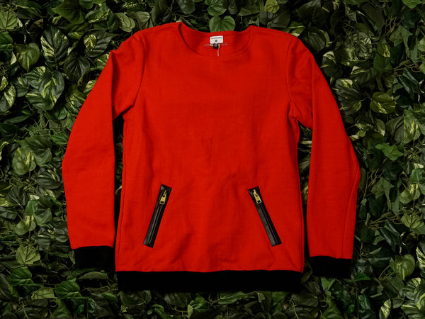 Hip and Bone Bamboo Crewneck [AZS-565R]