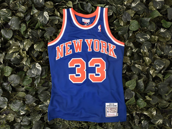 Mitchell & Ness 'Ewing' NBA Authentic Jersey [7226A-318-91PEWI1]
