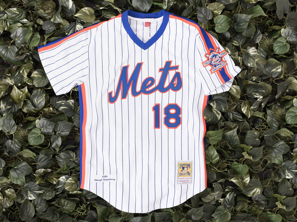 Mitchell & Ness 'Darryl Strawberry' MLB Authentic Jersey [7229-417-86DSTRA]