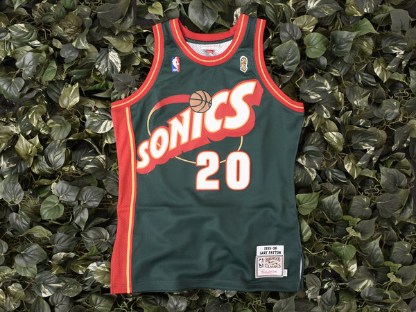 Mitchell & Ness 'Gary Payton' NBA Authentic Jersey [7226-346-95GPAY1]
