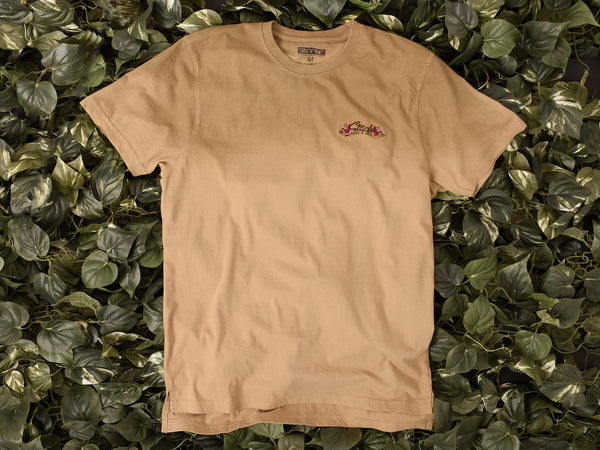 Men's Staple Rose Pigeon Emb Tee [1704C3777]