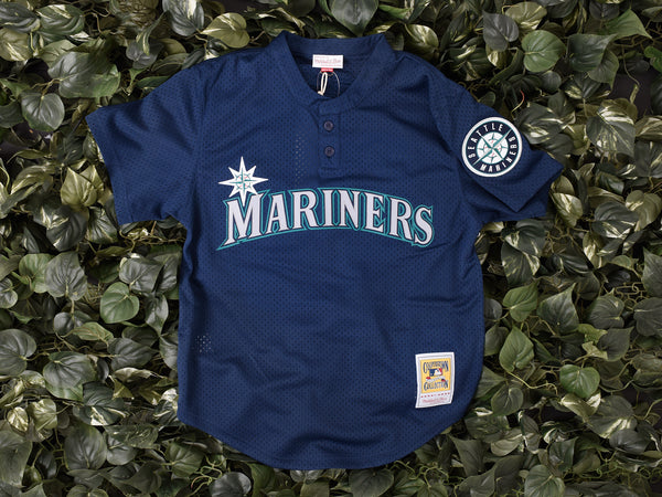 Mitchell & Ness 'Ken Griffey Jr.' MLB Authentic Mesh BP [5621-424-95KGRI2]
