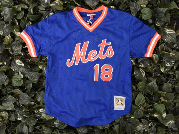 Mitchell & Ness 'Darryl Strawberry' MLB Authentic Mesh BP [5621-417-DSTRA86]