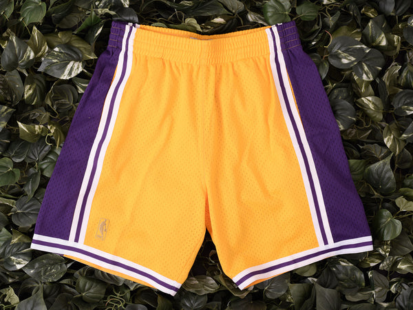 Mitchell & Ness 'Lakers' NBA Authentic Shorts [540BA-302]