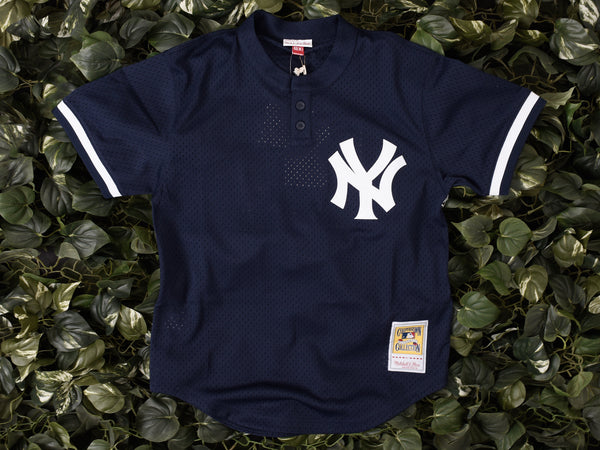Mitchell & Ness NYY Bernie Williams BP Jersey [418-98BEWIL]