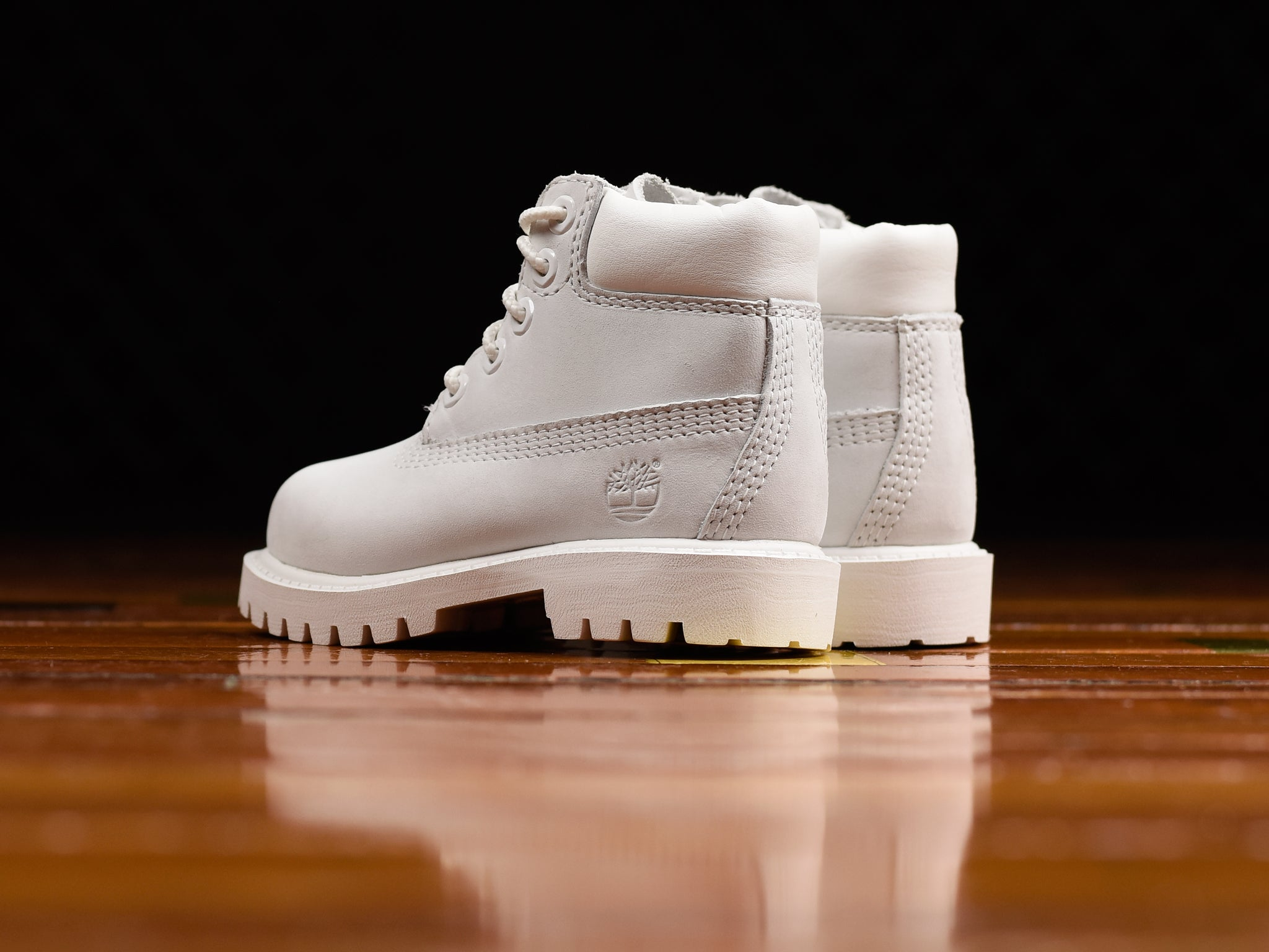 Kid s Timberland 6Inch Premium Boot  Ghost White   84a7b040f5fe8