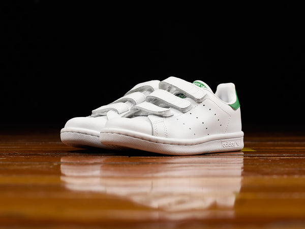 Kid's Adidas Stan Smith Velcro CF C [M20607]
