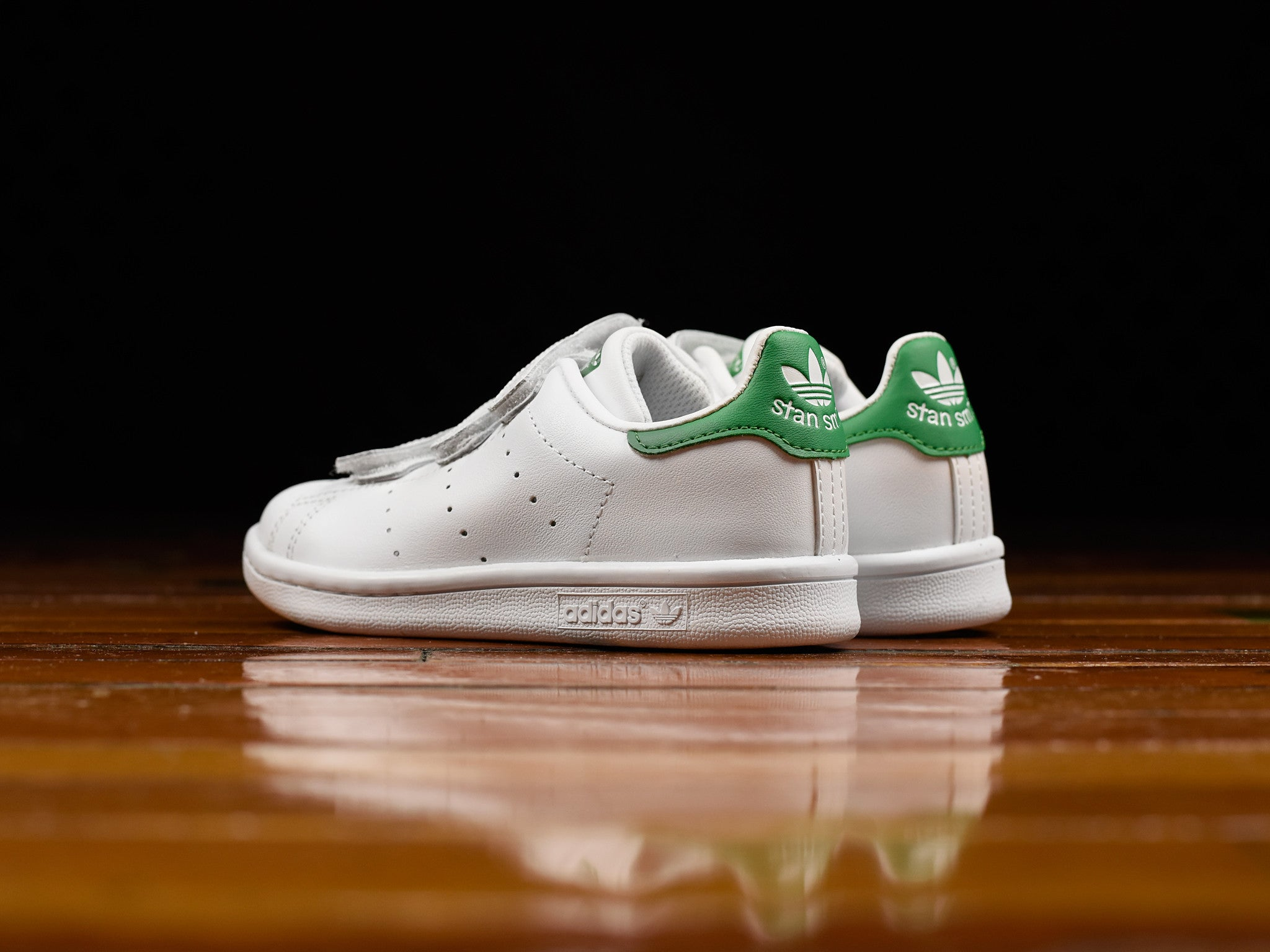 wholesale dealer bab17 b6e12 Kid's Adidas Stan Smith Velcro CF C [M20607]