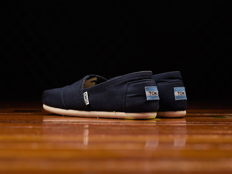 Women's TOMS Navy Canvas Classic [001001B07-NVY]