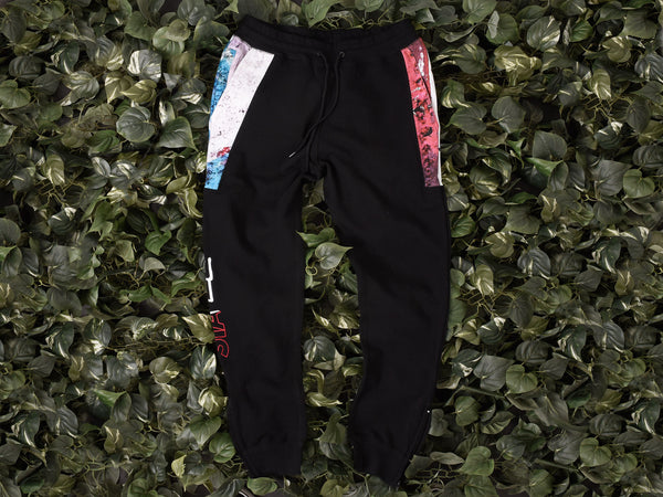 Men's Staple Pigeon 'Split' Sweatpants [1709B4130-BLK]