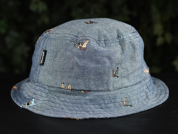 Renarts - Diamond Supply Co. Pin Up Bucket Hat [B16DMHH04-CHBY]