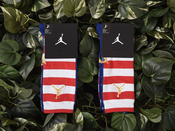 Renarts - Men's Jordan 7 Retro Socks [SX5323-455]