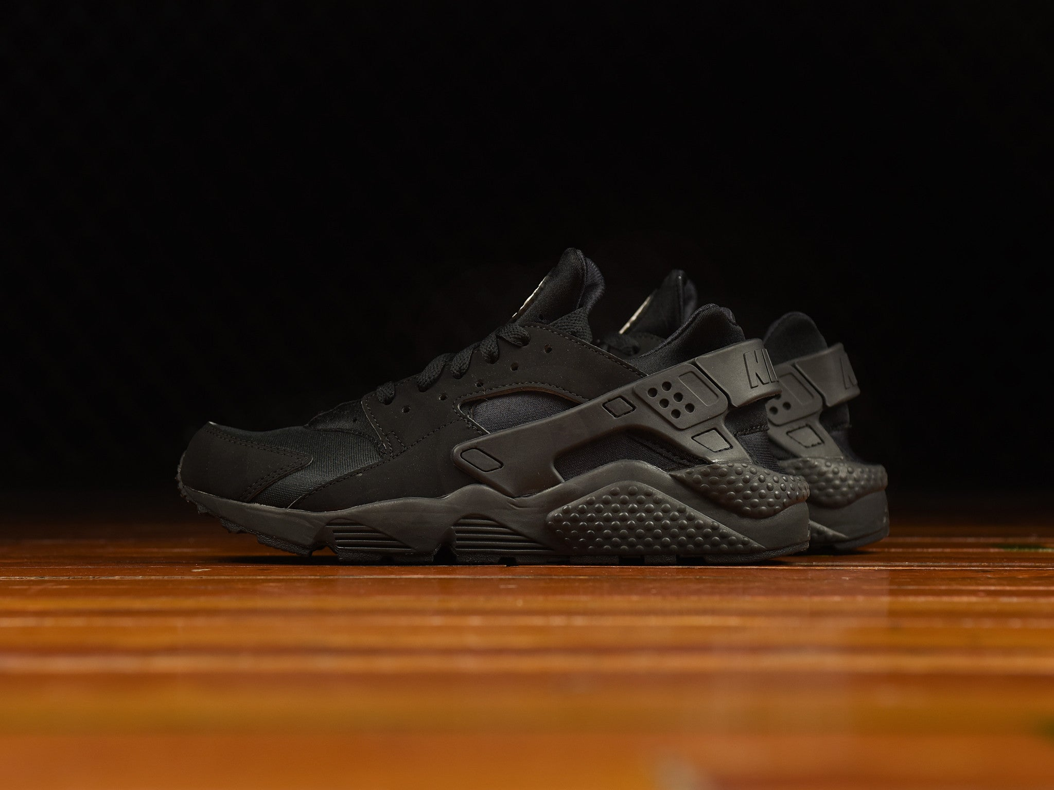 4d56f888b7c93 Men s Nike Air Huarache  Triple Black