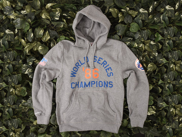 Renarts - Mitchell & Ness New York Mets Hoodie '30th Anniversary' [270F-Grey]