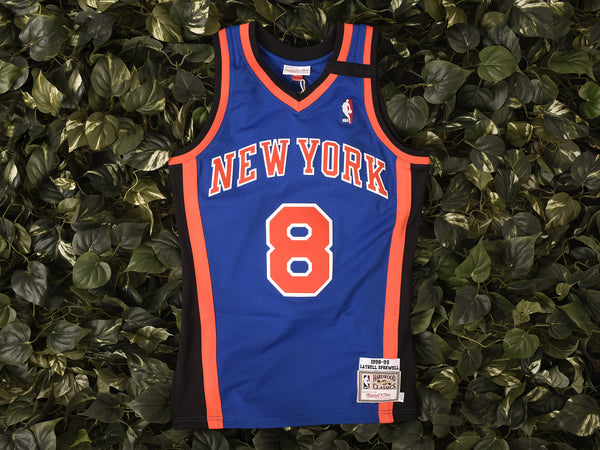 Mitchell & Ness 'Sprewell' NBA Authentic Jersey [7226A-318]