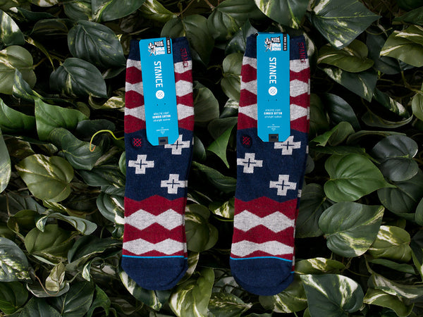 Renarts - Kid's Stance 'Nations Boys' Socks [B200B15NAT-BLK]