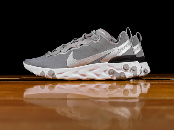 Men's Nike React Element 55 'Metallic Silver' [BQ6166-007]