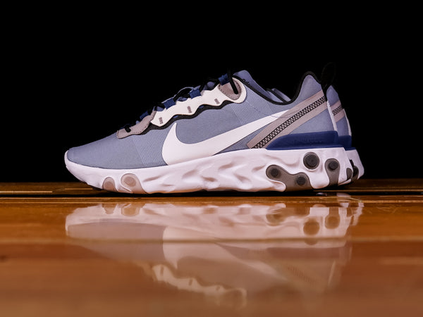 Men's Nike React Element 55 'Indigo Fog' [BQ6166-402]