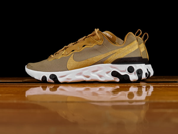 Men's Nike React Element 55 'Metallic Gold' [BQ6166-700]