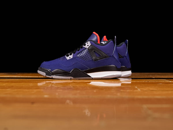 Kid's Air Jordan 4 Retro WNTR PS [BQ7669-401]