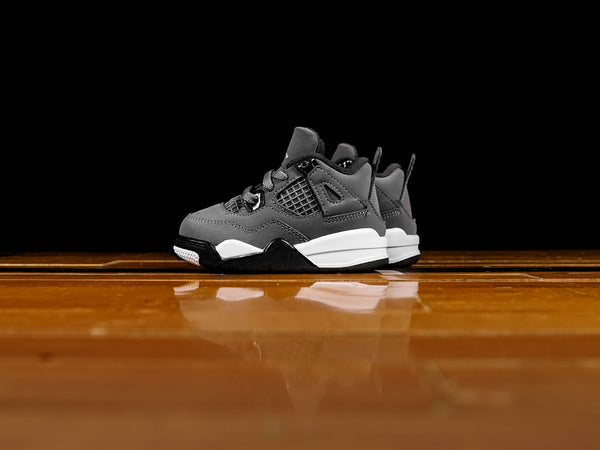 Kid's Air Jordan 4 Retro TD 'Cool Grey' [BQ7670-007]