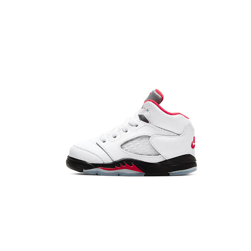 Air Jordan 5 Toddler Retro TD Fire Red Shoes