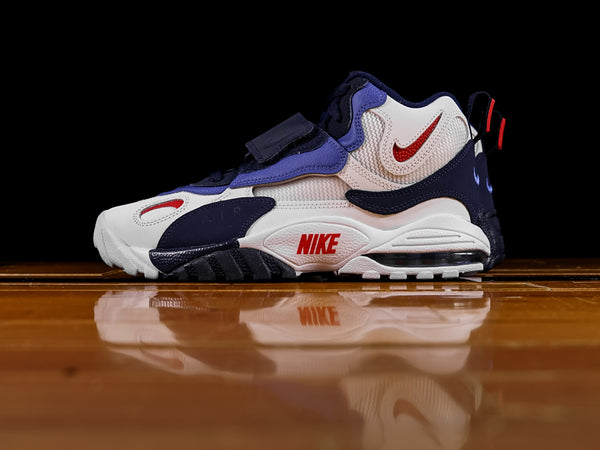 Men's Nike Air Max Speed Turf 'NY Giants' [BV1165-100]