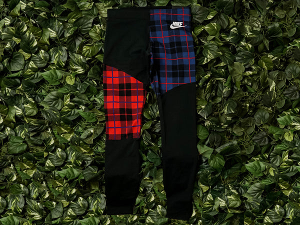 Women's Nike Sportswear Plaid Leggings [BV4633-010]