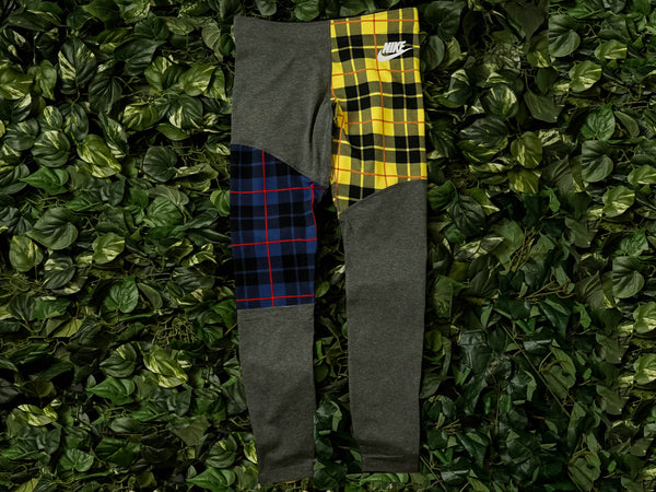Women's Nike Sportswear Plaid Leggings [BV4633-071]