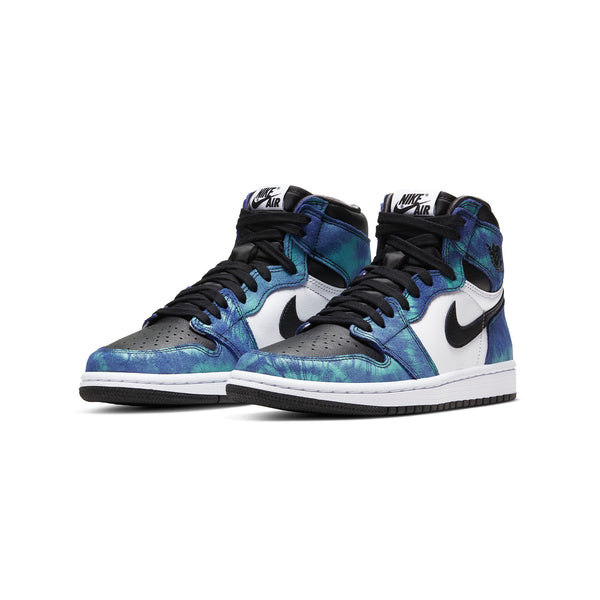Air Jordan Womens 1 High OG 'Tie Dye'