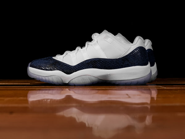 Men's Air Jordan 11 Low 'Snakeskin' [CD6846-102]