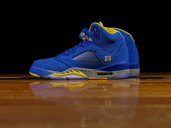 Kid's Air Jordan Retro 5 GS 'Laney' [CI3287-400]