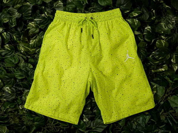 Men's Air Jordan Jumpman Cement Poolside Shorts [CI9133-345]