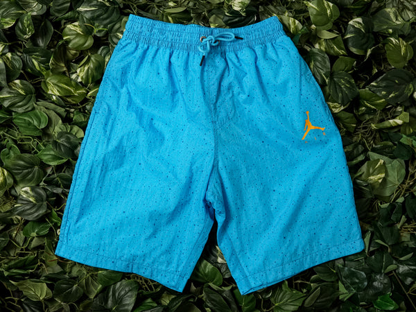 Men's Air Jordan Jumpman Cement Poolside Shorts [CI9133-465]