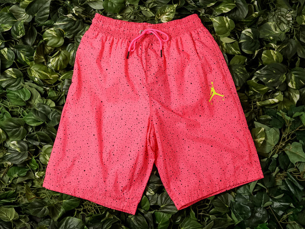 Men's Air Jordan Jumpman Cement Poolside Shorts [CI9133-639]